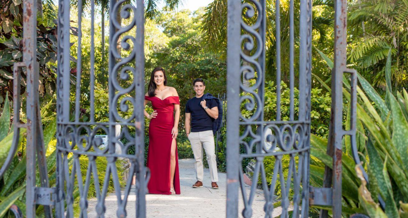 Grethel and Alejandro Engagements